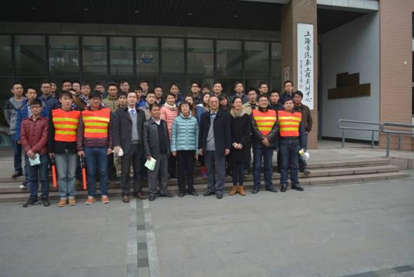 汽车工程学院举行消防安全演练